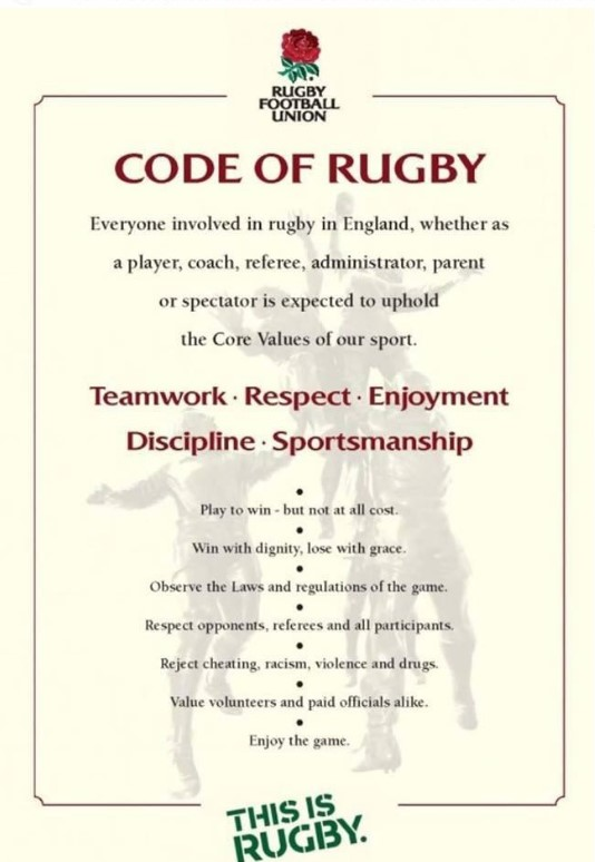 Code of Rugby